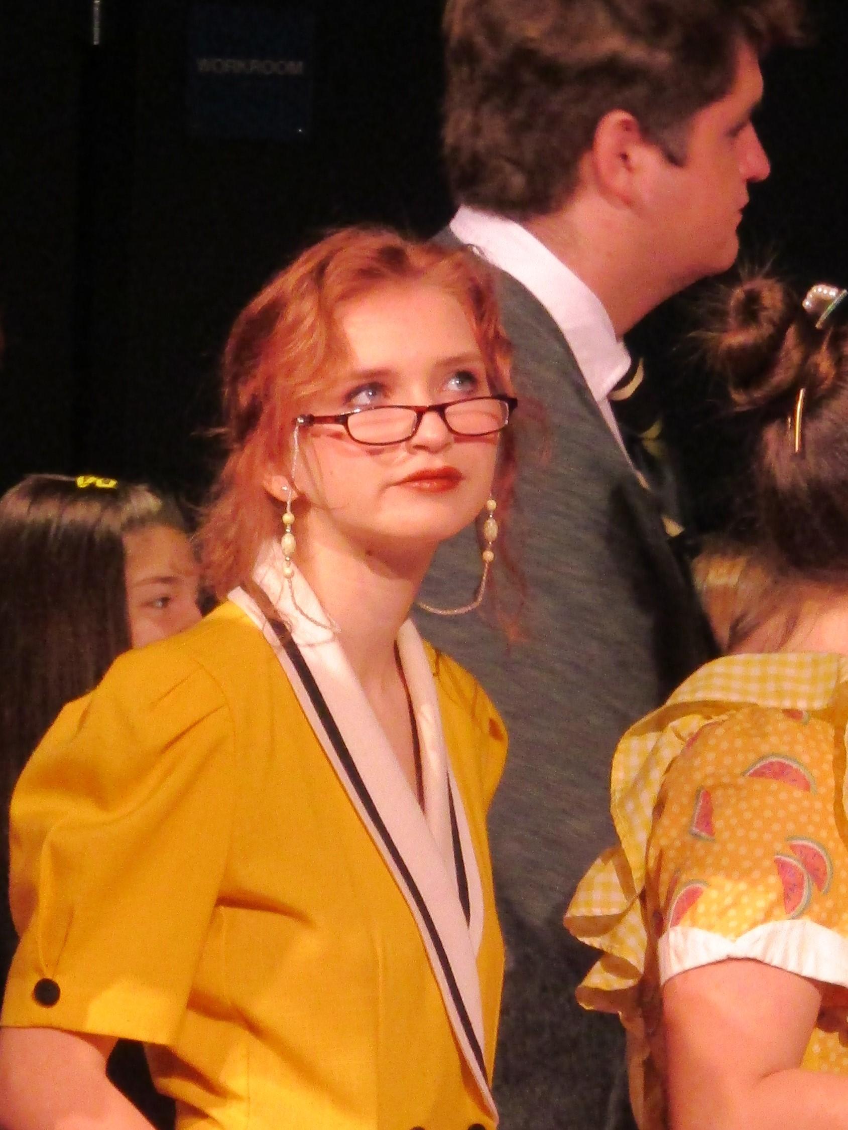 Lainy Larsen as Mrs. Merkle