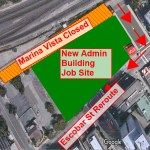 Marina Vista Street Closure