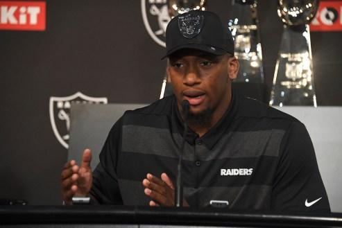 Oakland Raiders First Round Draft Picks Defensive End Clelin Ferrell Photos by Gerome Wright (Martinez News-Gazette)
