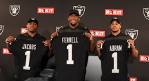 Oakland Raiders First Round Draft Picks Photos by Gerome Wright (Martinez News-Gazette)