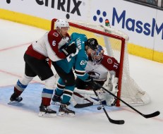 San Jose Sharks vs Colorado Avalanche Game 1 Western Conference Semifinals Photos by Guri Dhaliwal (Martinez News-Gazette)