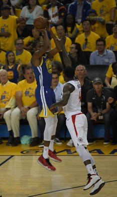 Golden State Warriors vs LA Clippers Game Five NBA Playoffs Photos by Gerome Wright (Martinez News-Gazette)
