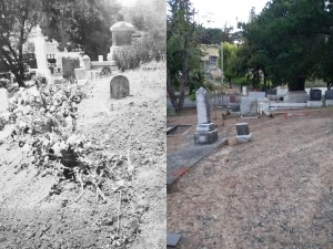 A then and now look at the potential gravesite of Velda's from 1934 and a current view from 2019.