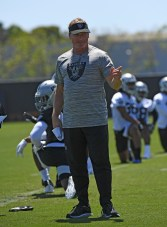 2019 Oakland Raiders Rookie Mini Camp Head Coach Jon Gruden Photos by Gerome Wright (Martinez News-Gazette)