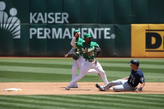 Oakland A's vs Seattle Mariners Photos by Tod Fierner (Martinez News-Gazette)