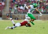Stanford Cardinal vs Oregon Ducks Photos by Guri Dhaliwal (Martinez News-Gazette)