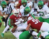Stanford Cardinal vs Oregon Ducks Photos by Guri Dhaliwal (Martinez News-Gazette)