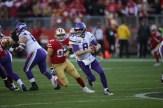 San Francisco 49ers vs Minnesoda Vikings NFL Divisional Round Playoff 49ers 27 Vikings 10 Photos by Tod Fierner Martinez News-Gazette