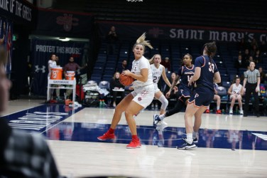 Saint Mary's Women's Basketball vs Pepperdine Wave Photos by Tod Fierner Martinez News-Gazette