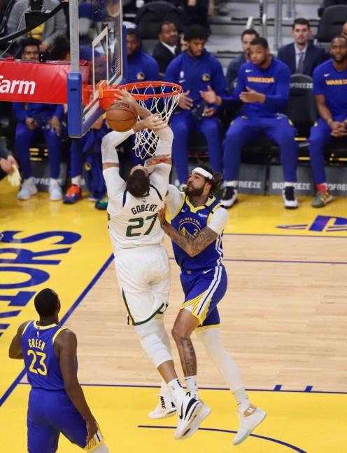 Golden State Warriors vs Utah Jazz