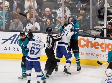 San Jose Sharks vs Tampa Bay Lightining