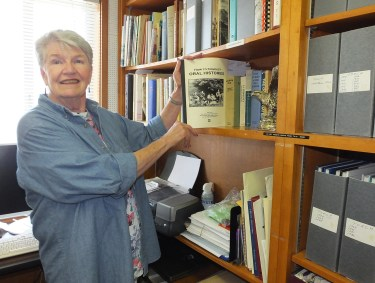 Harriett Burt in Local History Library -- reduced size for email