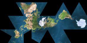 fuller world map