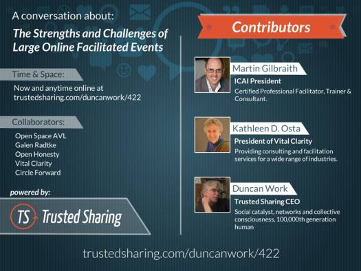 Trusted Sharing conversation