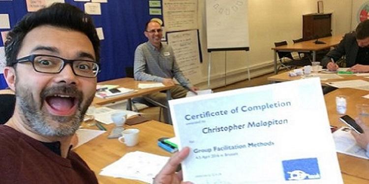 ToP Group Facilitation Methods training, 2016 in Brussels - photo Christopher Malapitan, facilitation Martin Gilbraith #ToPfacilitation