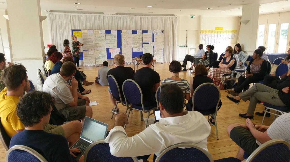 Amnesty International Communications Department retreat, 2017 in London - photo & facilitation Martin Gilbraith #ToPfacilitation #OST 2
