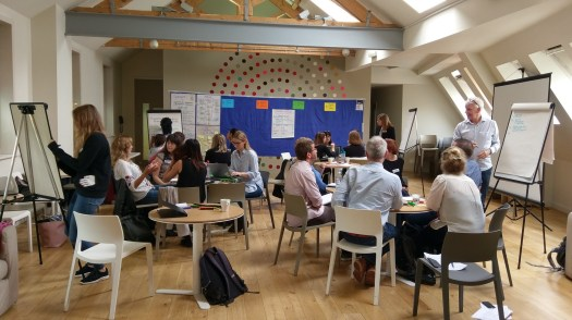 Amnesty International Refugee Community Sponsorship workshop, 2017 in London - photo & facilitation Martin Gilbraith #ToPfacilitation