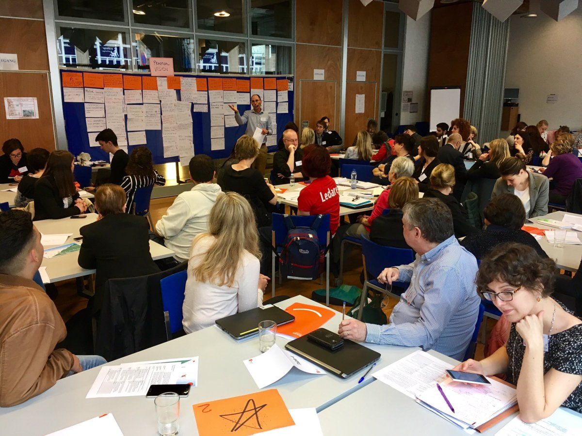 Eurochild General Assembly, 2017 in Brussels - photo Remi Goossens, facilitation Martin Gilbraith #ToPfacilitation #EurochildGA