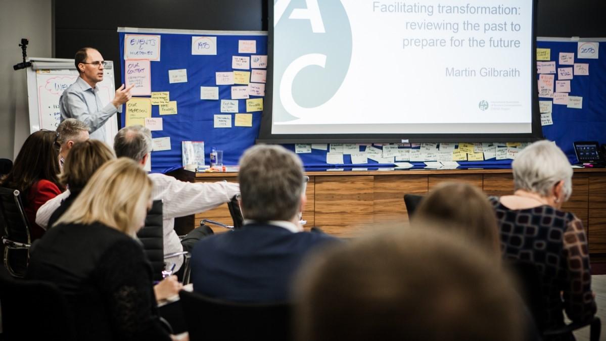 IABC EMENA Eurocomm2017 conference in London - photo IABC EMENA, facilitation Martin Gilbraith #ToPfacilitation #EuroComm17 9