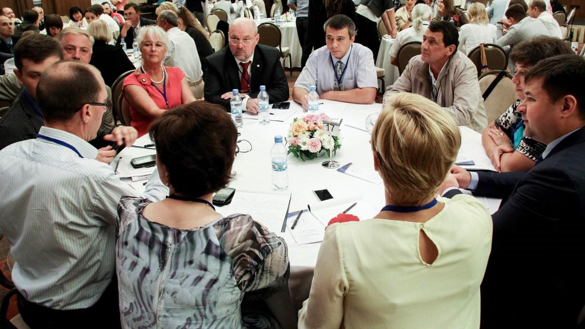 ICA Ukraine PEACE Summit, 2014 in Kiev - photo ICA Ukraine, facilitation Martin Gilbraith #peacesummitua