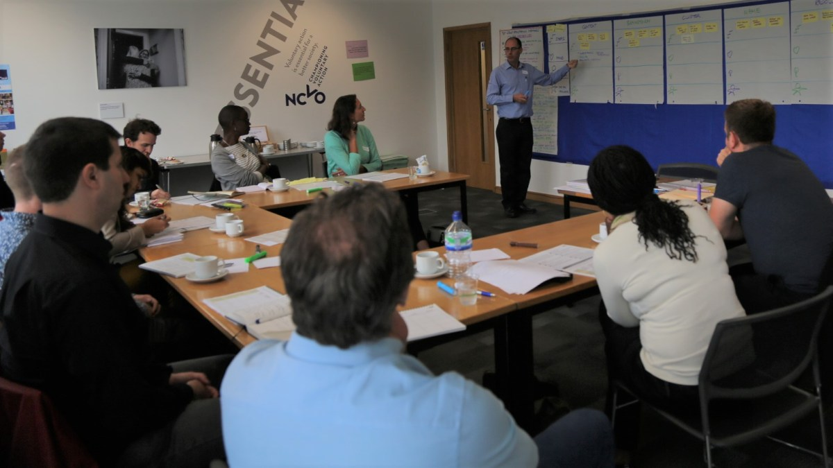 ICAUK ToP Group Facilitation Methods training, 2015 at NCVO in London - photo Michael Ambjorn, facilitation Martin Gilbraith #ToPfacilitation 1