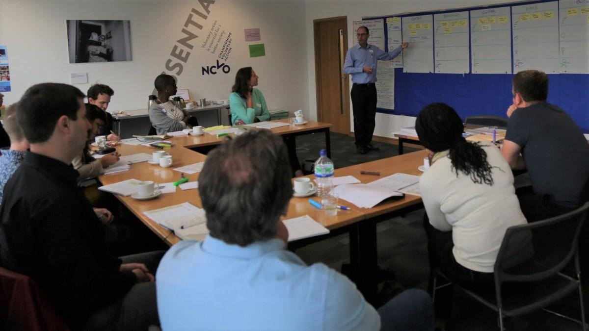 ICAUK ToP Group Facilitation Methods training, 2015 at NCVO in London - photo Michael Ambjorn, facilitation Martin Gilbraith #ToPfacilitation 1
