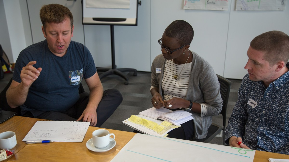 ICAUK ToP Group Facilitation Methods training, 2015 at NCVO in London - photo Michael Ambjorn, facilitation Martin Gilbraith #ToPfacilitation 3
