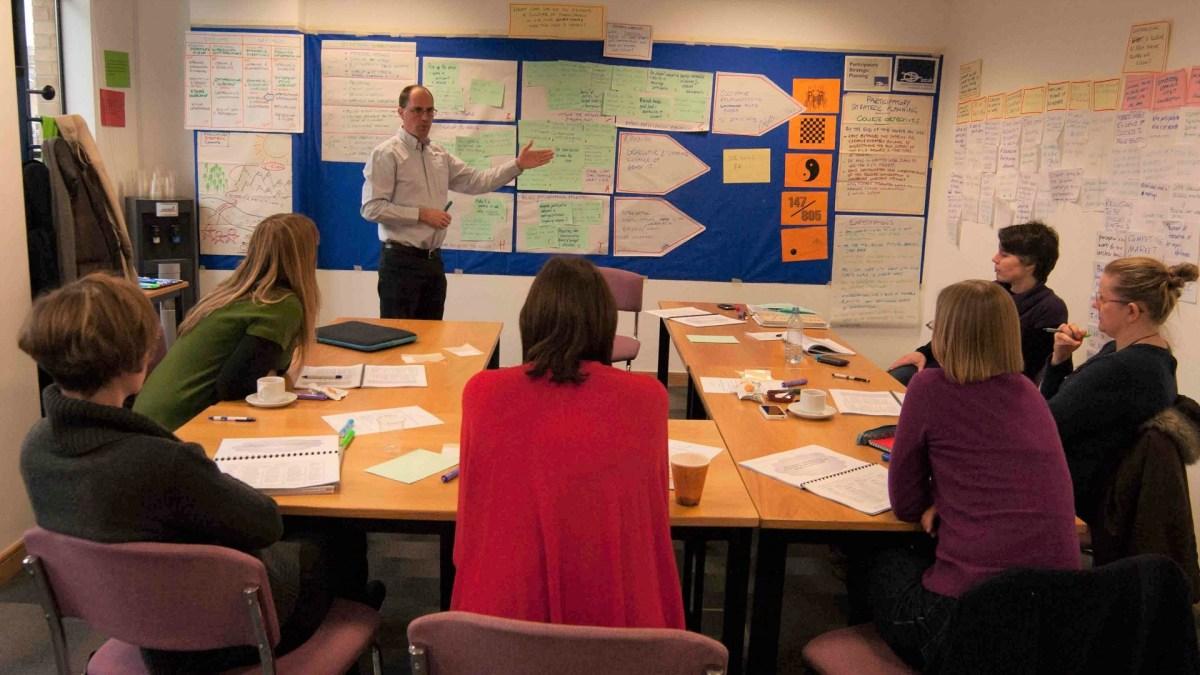 ICAUK ToP Participatory Strategic Planning training, 2013 at NCVO in London - photo Adam Swann, facilitation Martin Gilbraith #ToPfacilitation 4