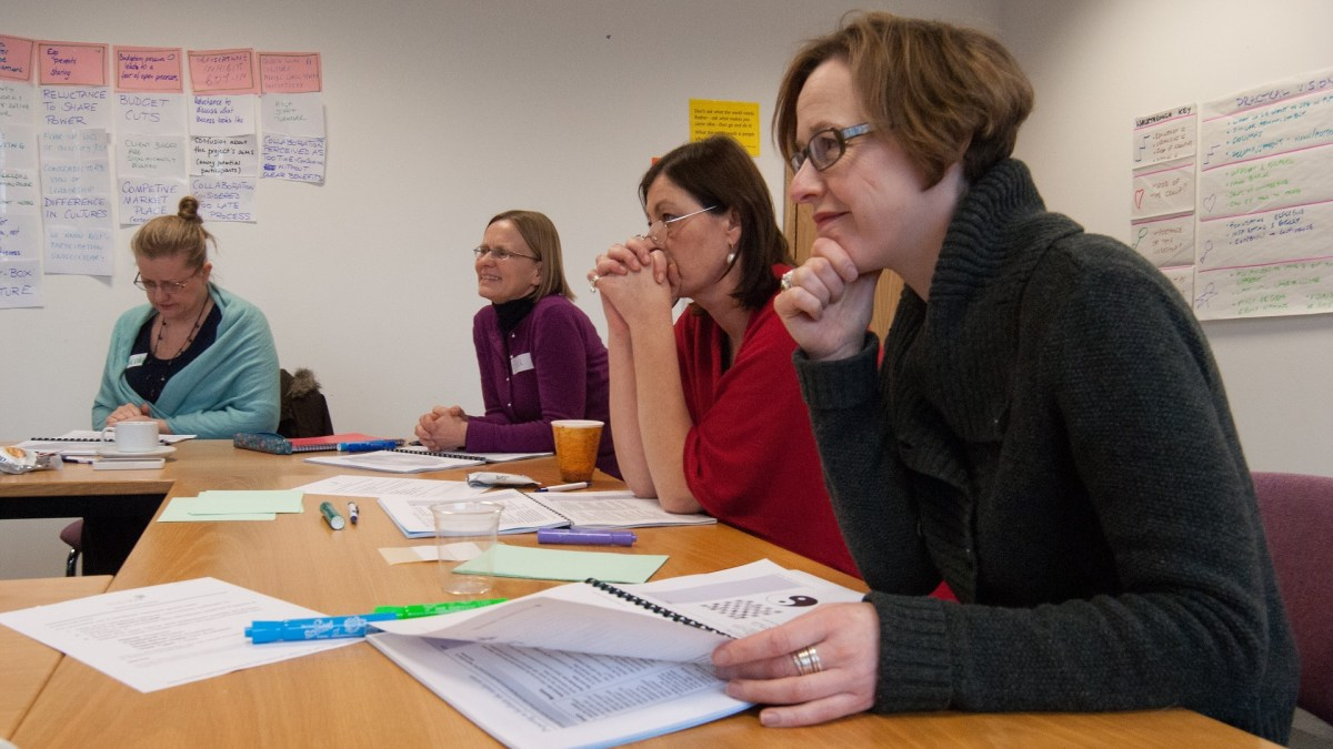 ICAUK ToP Participatory Strategic Planning training, 2013 at NCVO in London - photo Adam Swann, facilitation Martin Gilbraith #ToPfacilitation 6