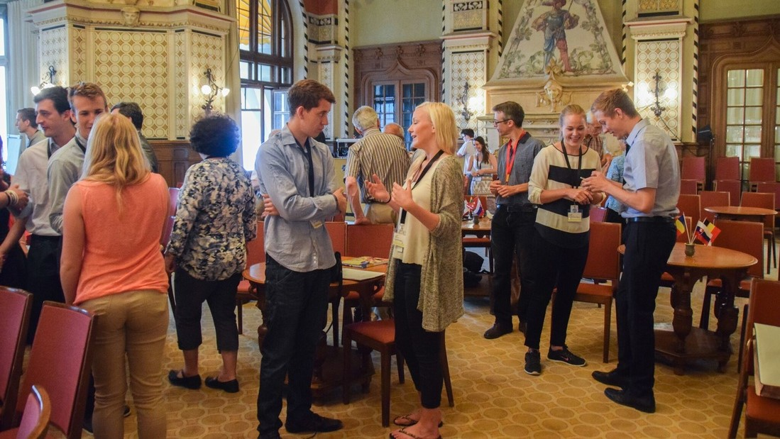 IofC Addressing Europe's Unfinished Business conference, 2015 at Caux - photo Caux Foundation, facilitation Martin Gilbraith #Caux2015 #ToPfacilitation 2