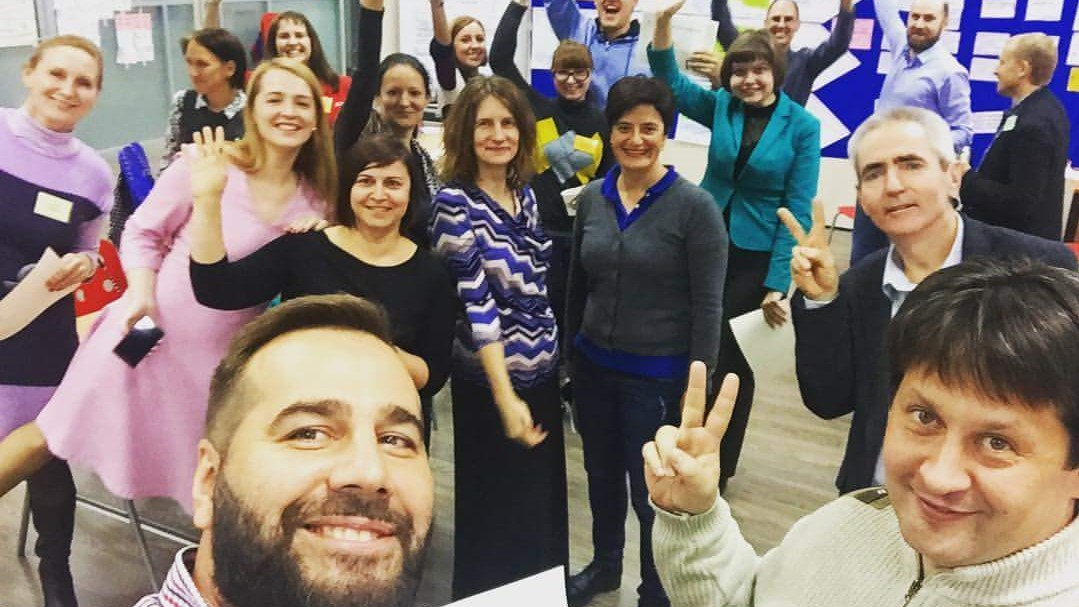 ToP Group Facilitation Methods training, 2016 with Personal Image in Moscow - photo Timur Solokov, facilitation Martin Gilbraith #ToPfacilitation 3
