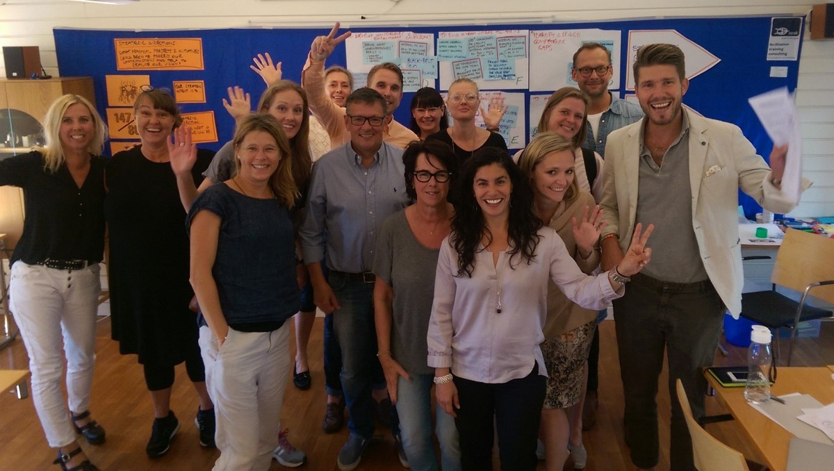 ToP Participatory Strategic Planning with Lorensbergs, 2016 near Gothenburg- photo & facilitation Martin Gilbraith #ToPfacilitation