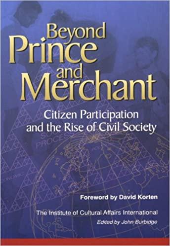 Beyond Prince and Merchant, John Burbidge