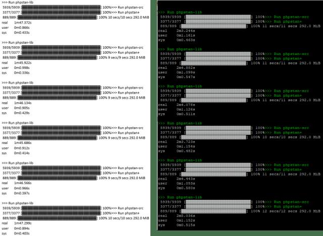 Figure 9 2x Intel Xeon Gold 6244 (Left) 1x AMD EPYC 7302P (right)
