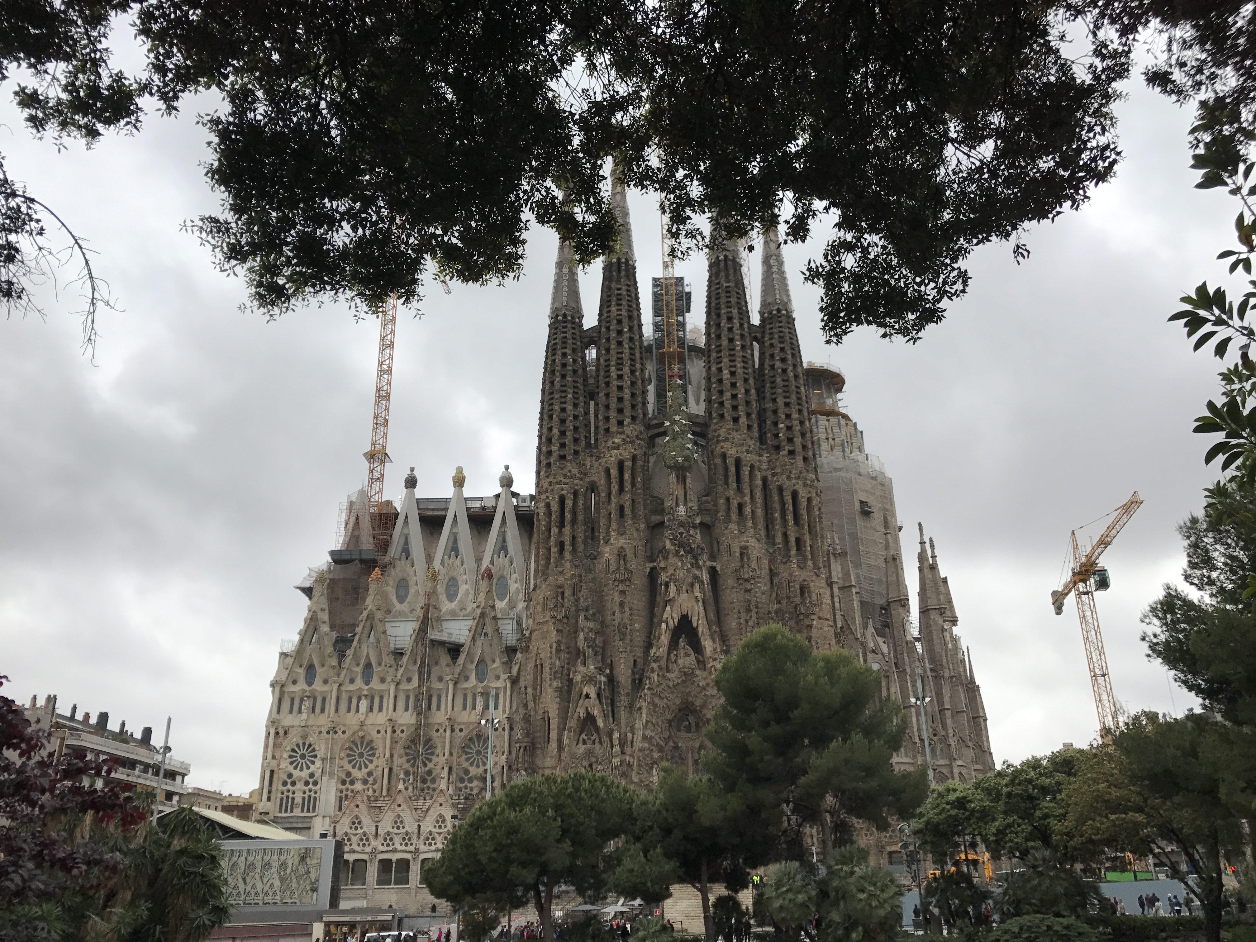Barcelóna - Sagrada Família