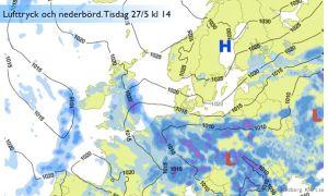 Översvämningar att vänta i Tyskland och Polen?