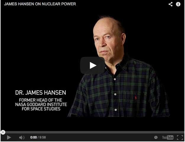 James Hansen on Nuclear, Fossil and Renewable Energy