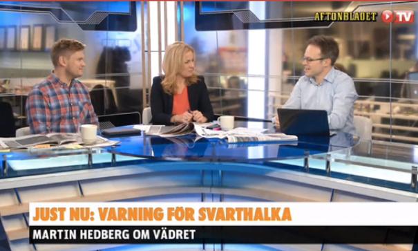 Väder på Aftonbladets Morgon-TV