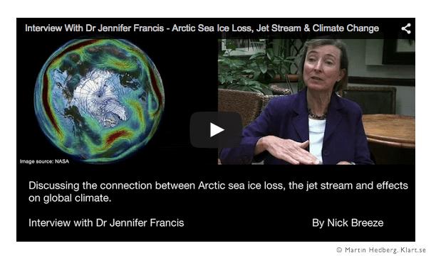 Jennifer Francis - Arctic Sea Ice Loss, Jet Stream & Climate Change