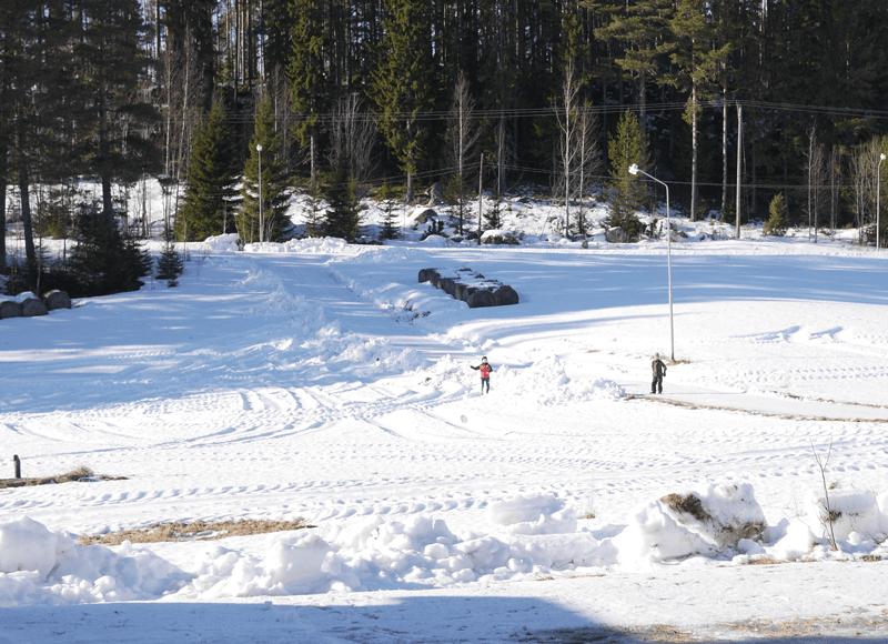 Snö i Jämtland i februari