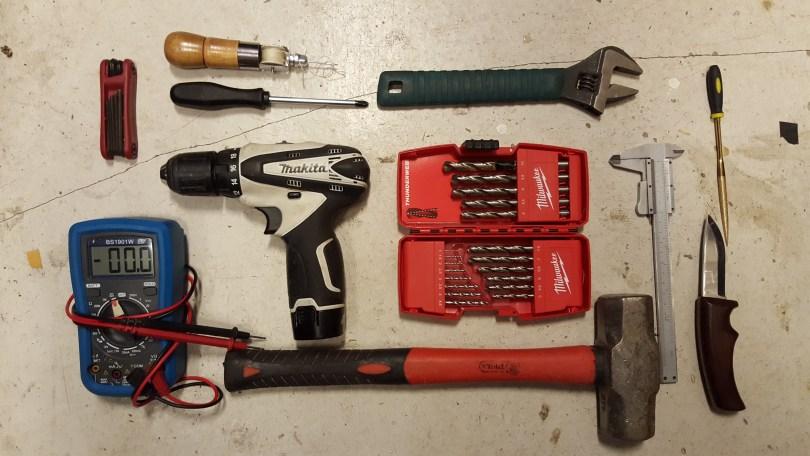 Bra verktyg som vi inte behövde använda.