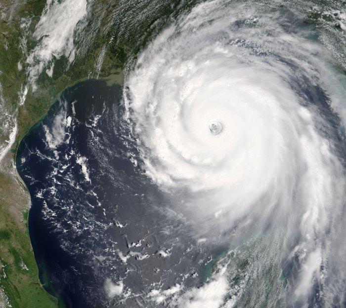 Hurricane Katrina 28 Augusti 2005.