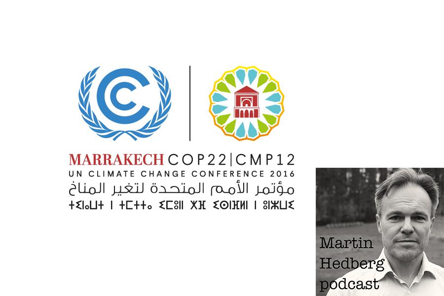 Inför COP22 i Marrakech och intervju med Filip Lövström, Push Sverige