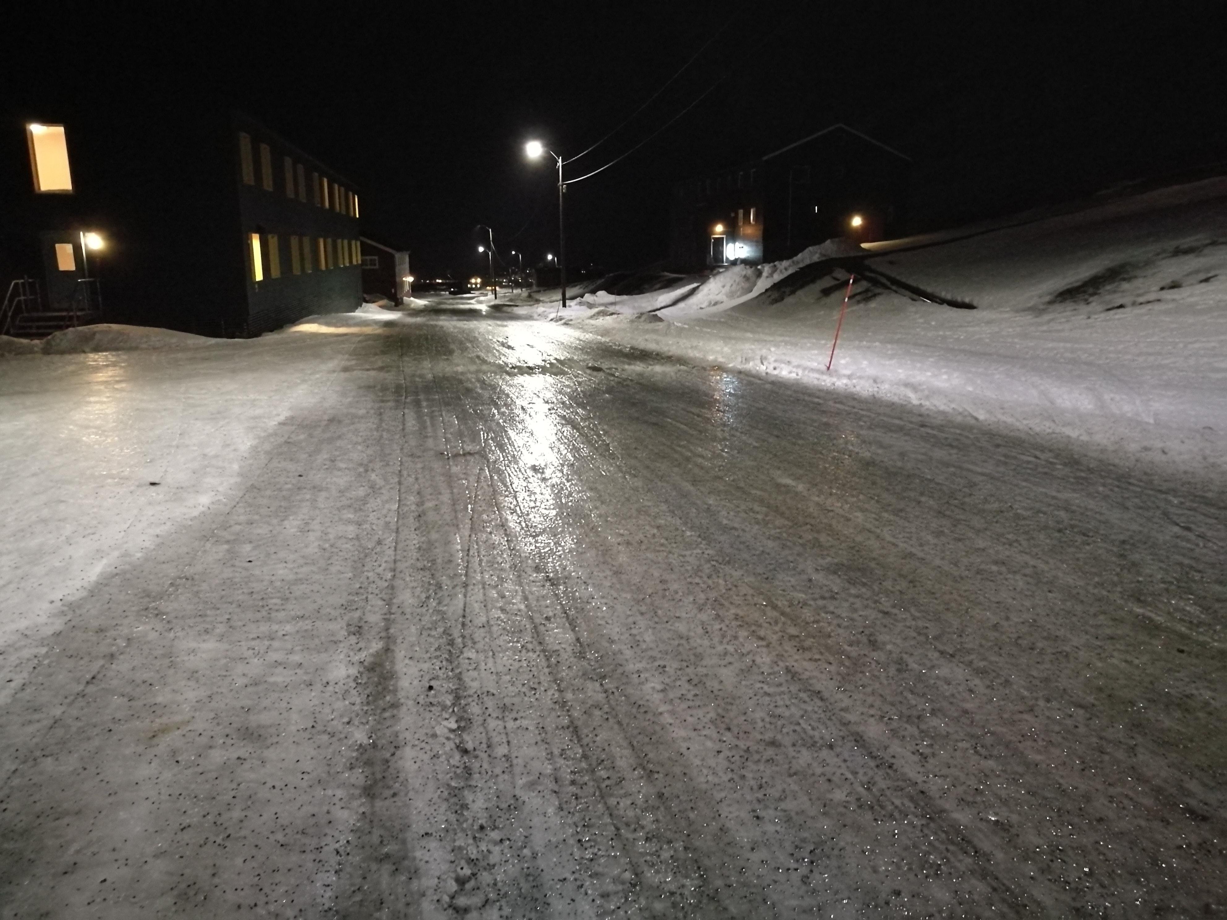 Värmebölja i Arktis