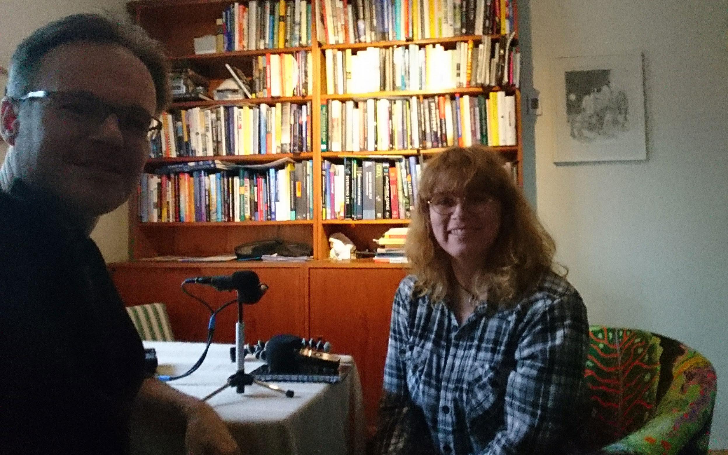 Jag intervjuas i podcasten Drömmen om Målajord