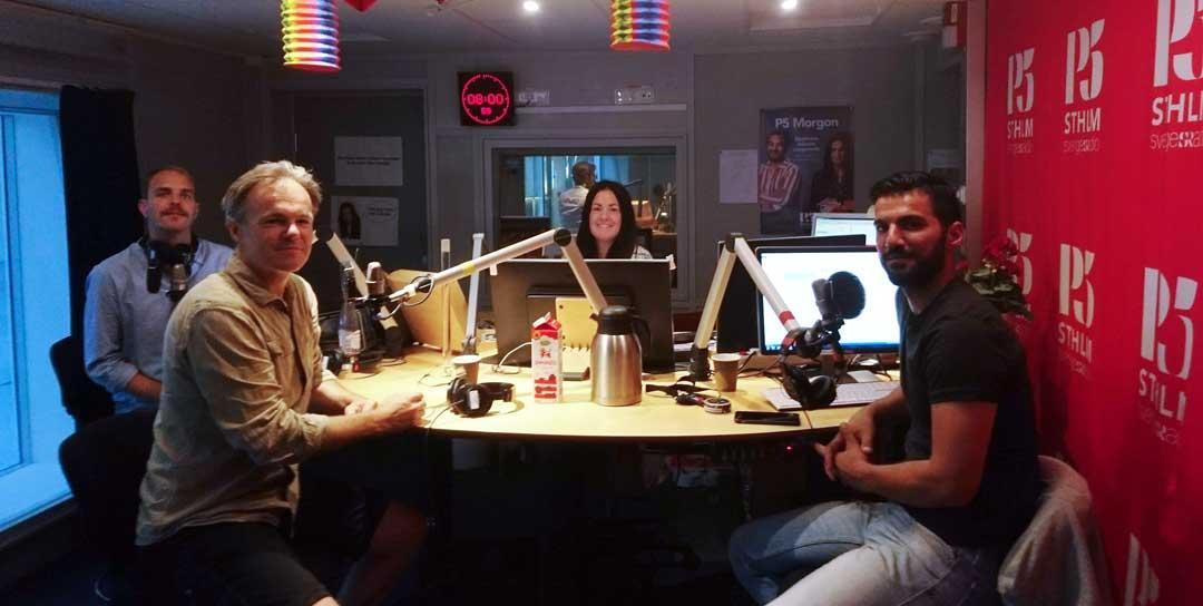 Jag om klimatet i Sveriges Radio i P5