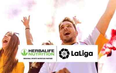 Herbalife Nutrition er stolt sponsor for Laliga