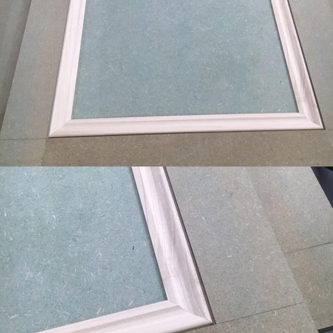 Applied moulding to wardrobe doors