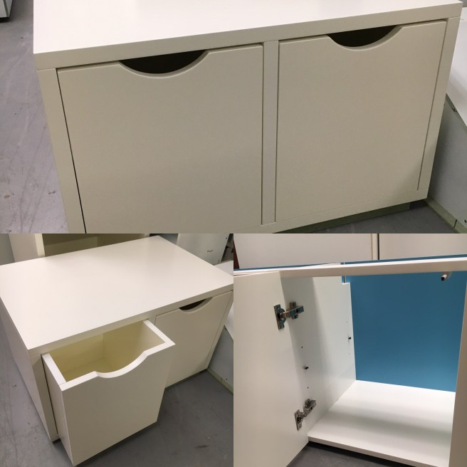 Cabinets and storage boxes