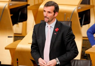 LIAM McARTHUR: The MSP said they were 'not minor allegations'.